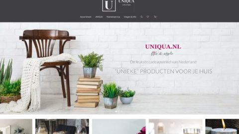 Uniqua.nl Cadeauwinkel